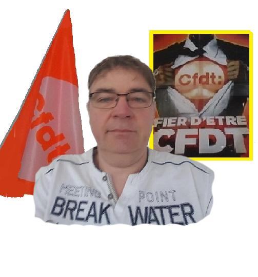 Franck PESQUET - Délégué Syndical Régional