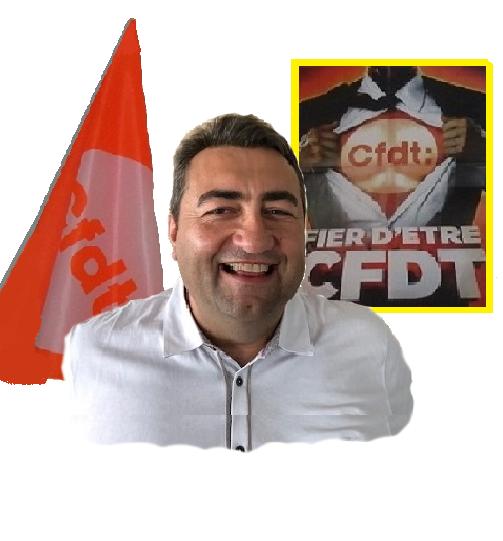 Laurent WEISS - Délégué Syndical Régional
