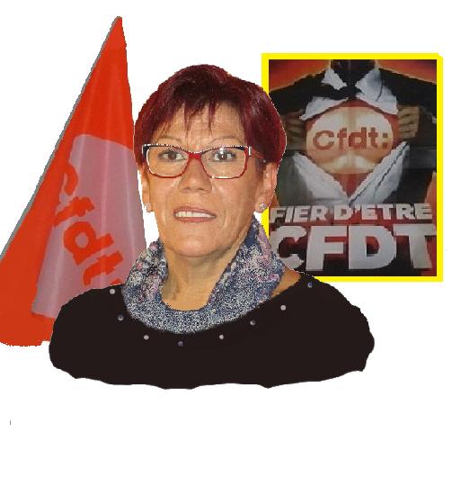Silvie BECCARI - Déléguée Syndicale Centrale.